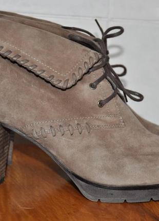 Ботильоны ботинки paul green кожа