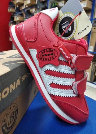 Стильные качественные детские кроссовки/bona-83346k