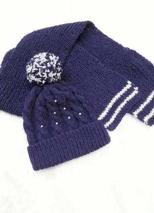 Шапка шарф набор комплект