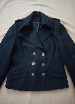 Шерстяное пальто, полупальто, куртка