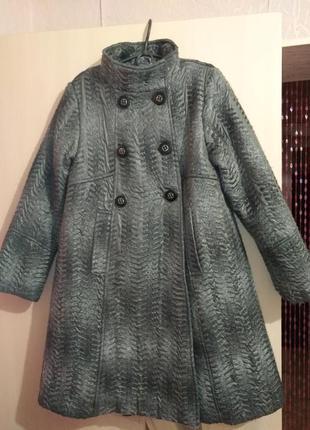 Распродажа!!! крутое пальто wojcik для модницы 146см