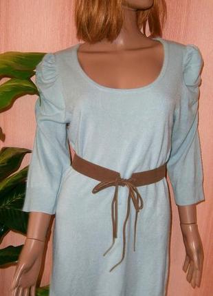 Кашемировое платье туничка артикул5