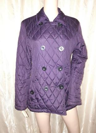 Куртка пиджак стеганая на тонком холлофайбере