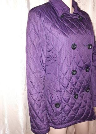 Куртка женская стеганая демисезонная пиджак reflex