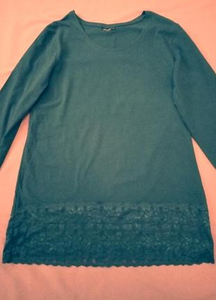 Блуза с шикарным кружевом