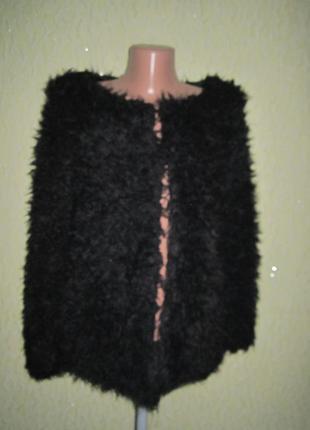 Меховая шубка, куртка, накидка на 2 крючка,на худенькую девушку