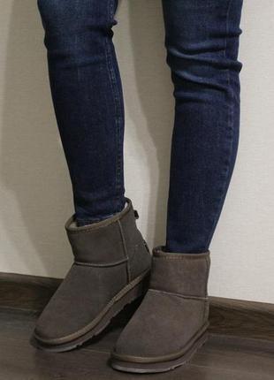 Мягкие, теплые и стильные женские угги (ботинки, полусапоги, сапоги) из натуральной замши