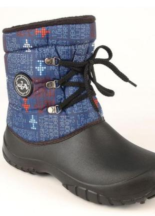 Резиновые сапоги-калоши jose amorales на шнурках цена 190гр.
