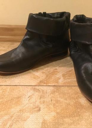 Ботинки полусапожки кожаные diesel