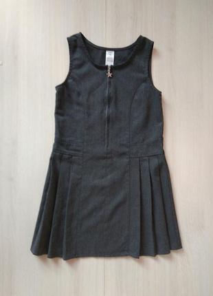 Школьный сарафан платье форма f&f
