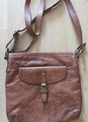 Кожаную мужскую сумку - планшет marks & spencer.