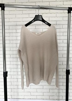 Бежевый базовый свитер кофта / светр кофта бежева