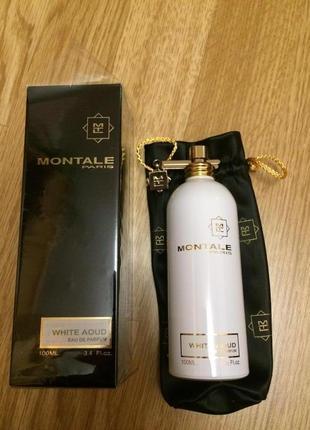 Французский парфюм montale white aoud,монталь eau de parfum unisex 100% original