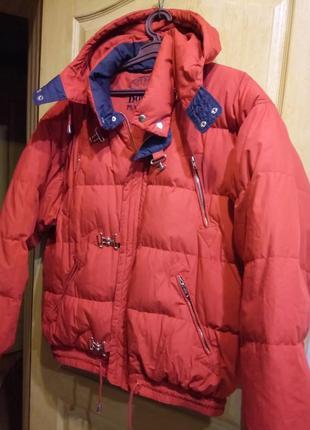 Шикарная куртка пуховик большой размер