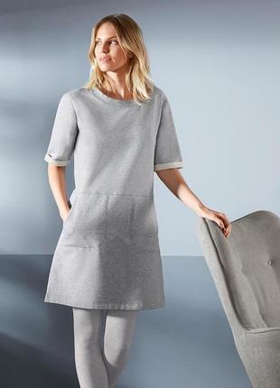 Фирменное домашнее утеплённое платье от tcm tchibo.германия. оригинал!