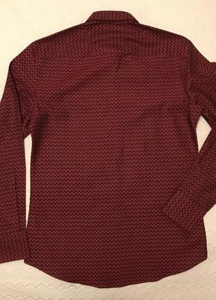 Рубашка kenzo бордовая оригинал2 фото