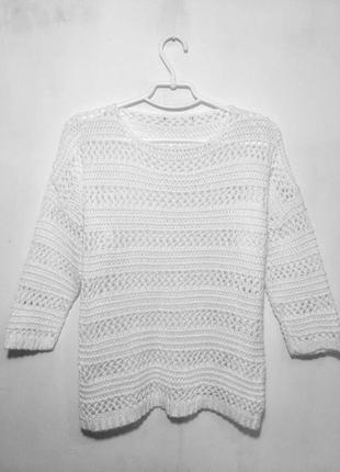 Классный свитер сетка