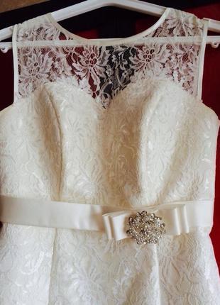 Вечернее платье на свадьбу или выпускной!! очень красивое!