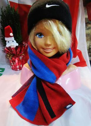 Красивый яркий шарф от британской компании! 150х30