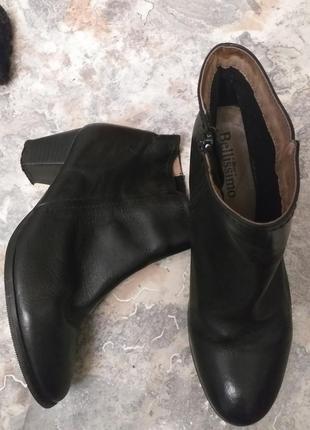 Кожанные ботинки