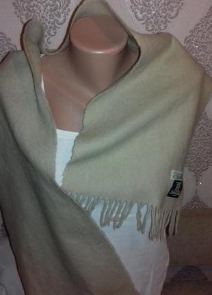 Шерстяной шарф.27х132