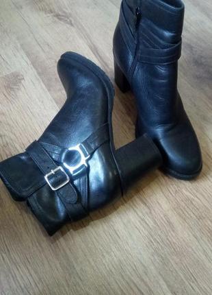 Шкіряні зимові черевики belmondo a22b51e26f218