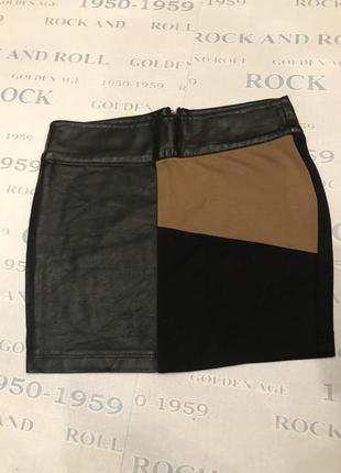 Крутая юбка мини