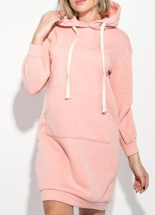 096e28ce889 Персиковые платья с капюшоном 2019 - купить недорого вещи в интернет ...