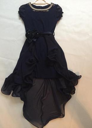 Красивое вечернее платье 8-10 лет