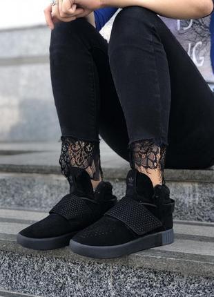 Высокие кроссовки adidas tubular
