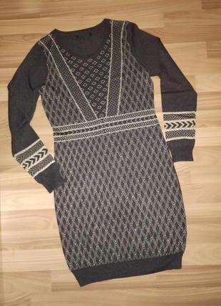 Теплое мягкое платье george