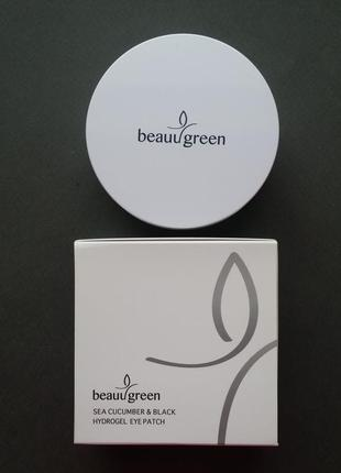 Гидрогелевые патчи beauugreen sea cucumber & black pearl hydrogel eye patch