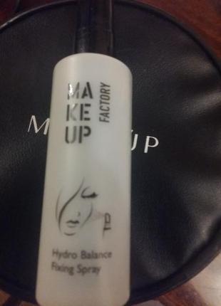 Фиксатор макияжа make up factory спрей