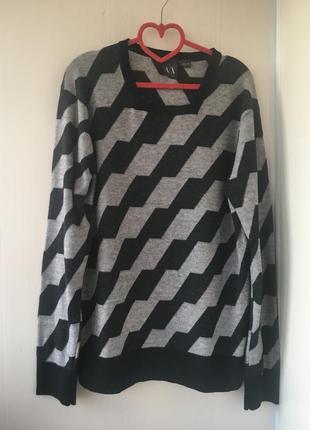 Armani! туника свитер джемпер , натуральная шерсть в составе
