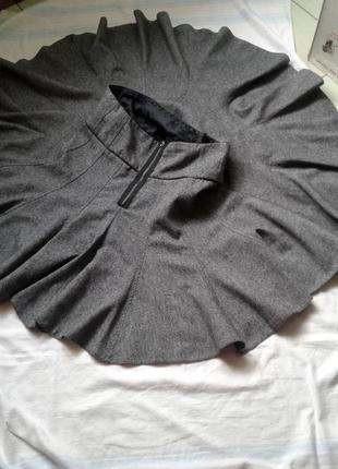 Шерстяная женская юбка