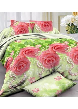 """Комплекты постельного белья из бязи ранфорс - """"розы"""""""