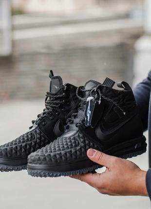 Ботинки мужские найки черный цвет новая коллекция 40-45 размеры
