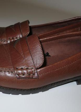 Кожаные туфли р.38
