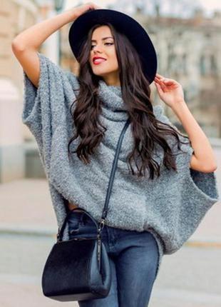 Модно в этом сезоне! черная шляпка федора 56р-р