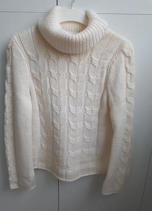 Свитер, белый свитер