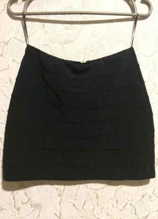 Бандажная юбка new look