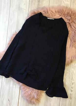 Блуза с завязкой