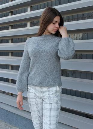 Очень нежный и тёплый свитер. люкс качество