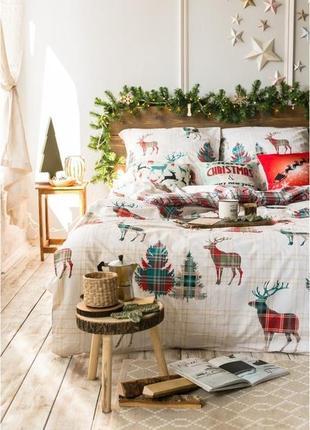 Скандинавия - постельное белье поплин (100% хлопок)