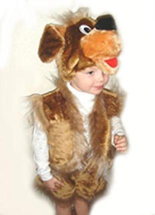 """Новогодний маскарадный костюм - """"собака"""""""