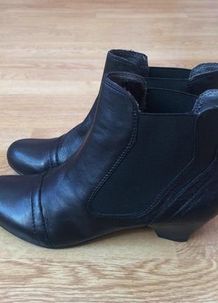 Новые кожаные ботинки roberto santi швейцария 39,5 размера