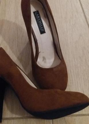 Нарядные туфли caramello
