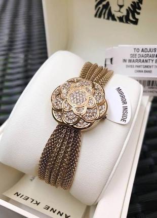 Шикарный подарок часы-браслет от anne klein (сша)