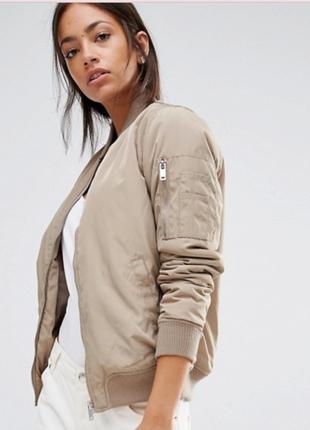 Куртка бомбер new look р. l