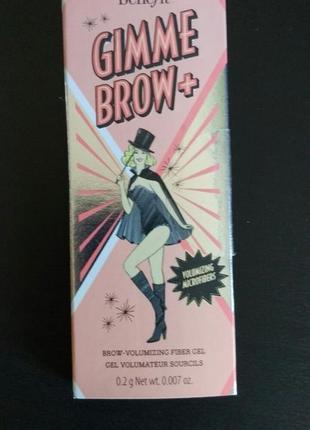 Benefit  gimme brow пробник для бровей